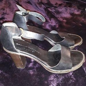Robert Clergerie chunky heels